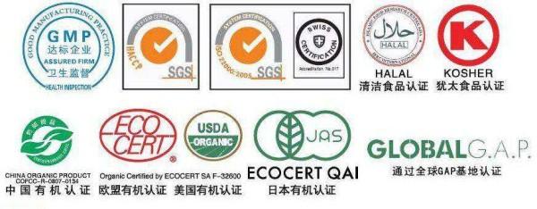 Сертификаты Органо Голд