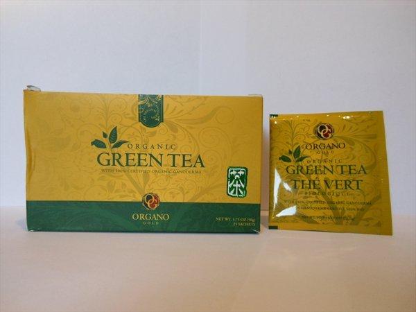 Чай Органо Голд