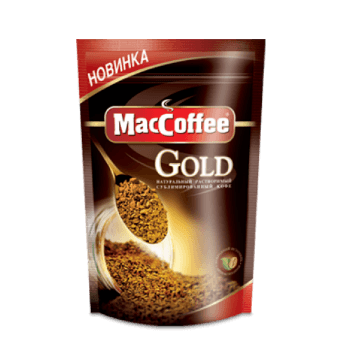 растворимый сублимированный кофе maccoffee_gold